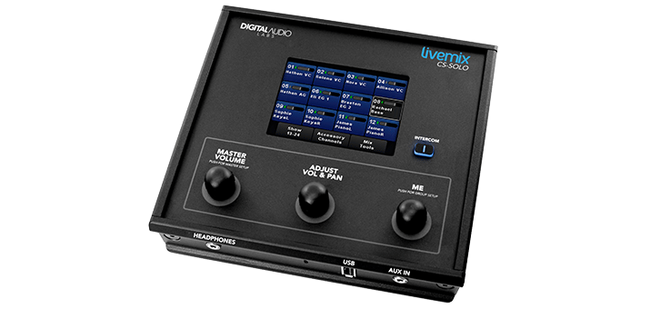 Livemix CS-SOLO single mix personal mixer