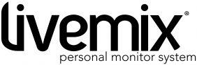 Livemix Personal Monitor System Logo - Black