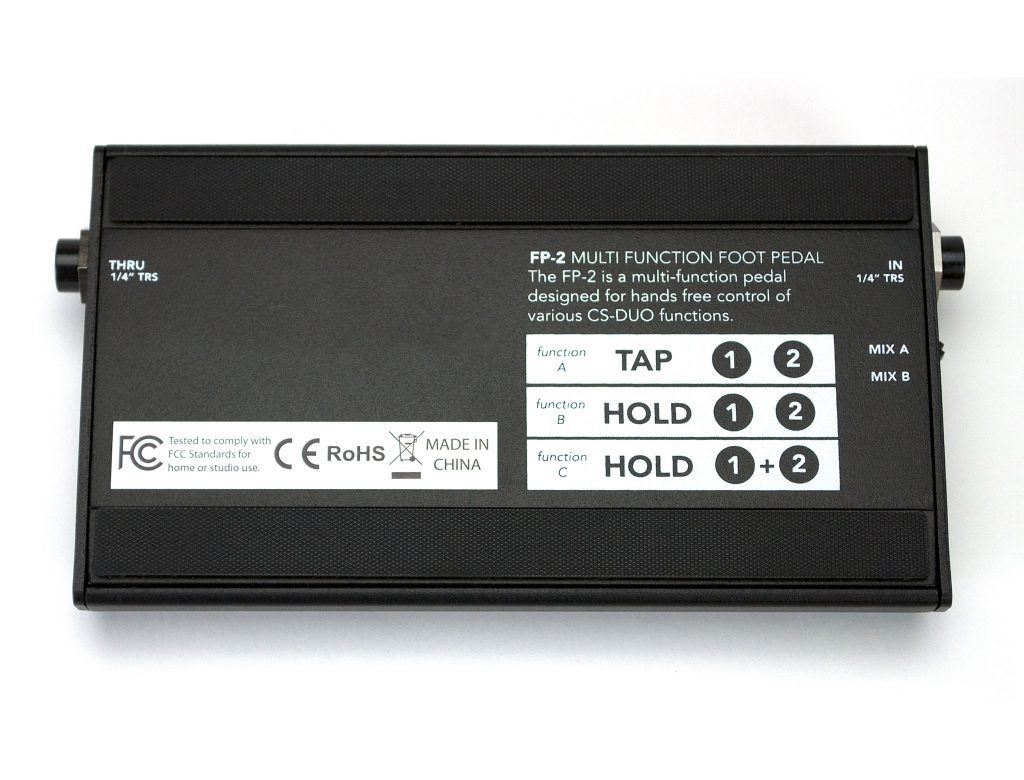 Livemix FP-2 Hands Free Personal Mix Control Bottom Image