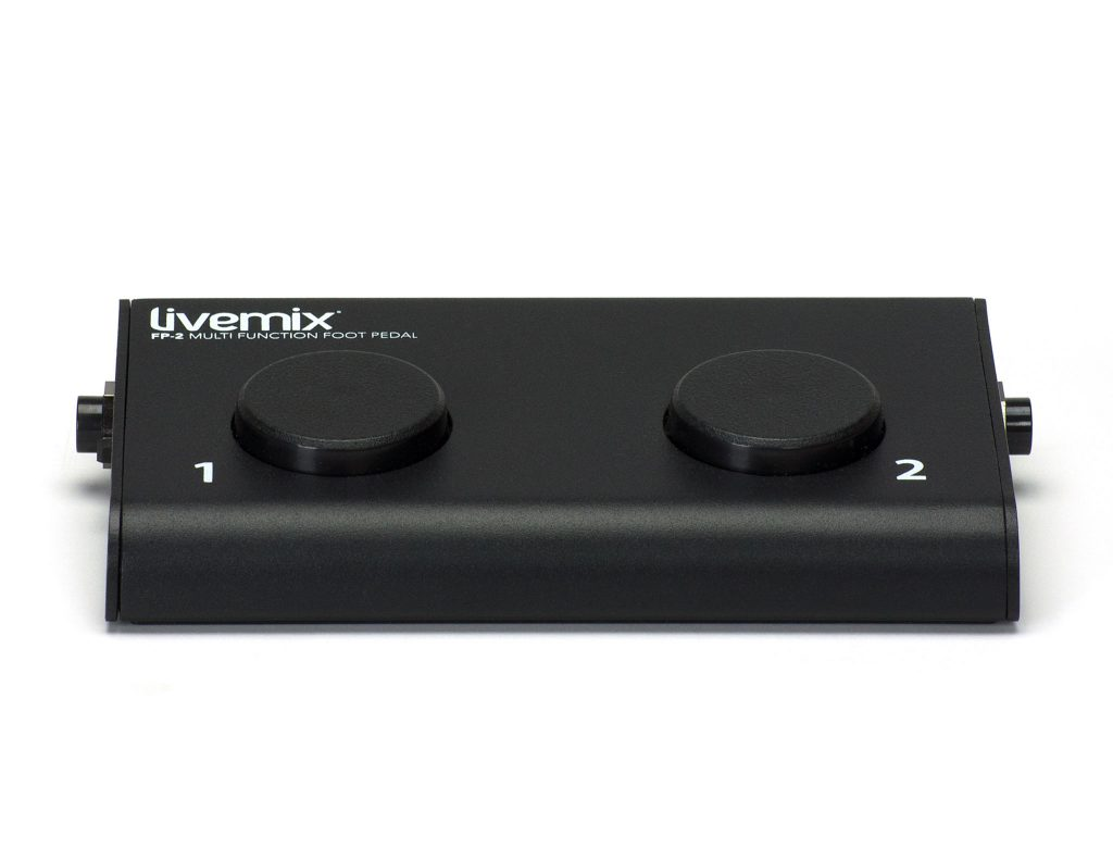 Livemix FP-2 Hands Free Personal Mix Control Front Image
