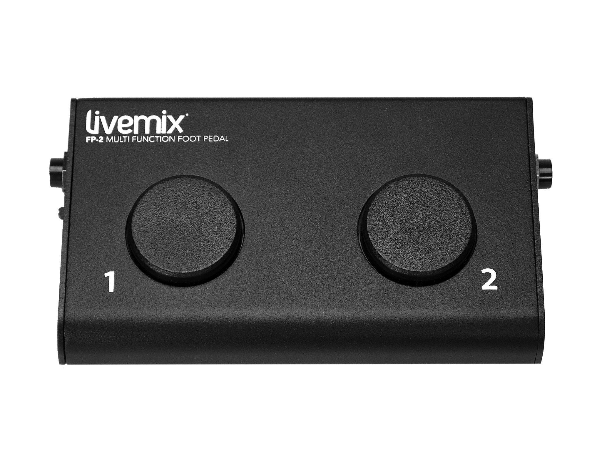 Livemix FP-2 hands free personal mix control top image