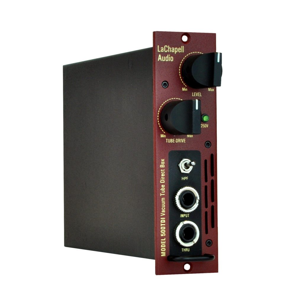 LaChapell Audio 500TDI 500 Series Tube Direct Box DI Angle Image