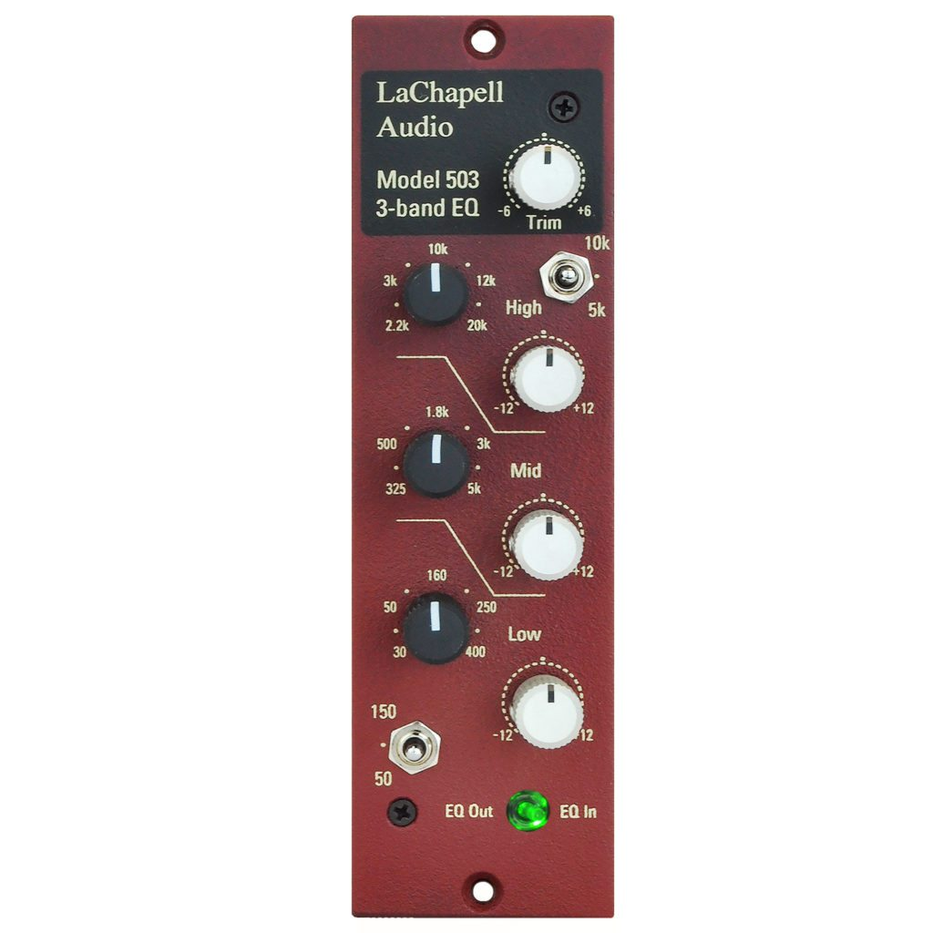 LaChapell Audio 503 500 Series EQ Front Image