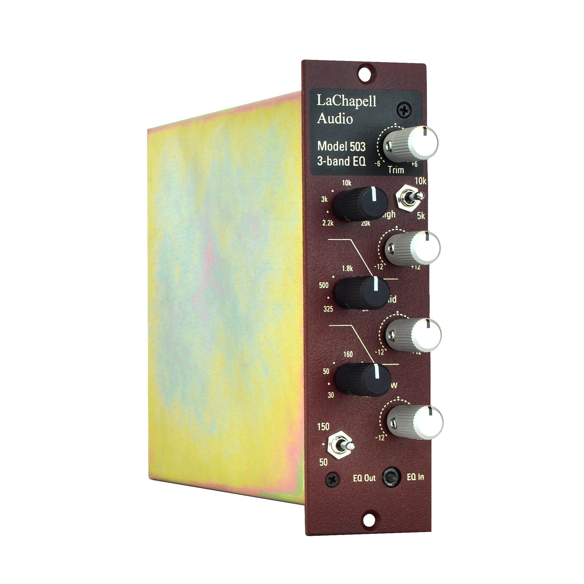 LaChapell Audio 503 500 series EQ angle image