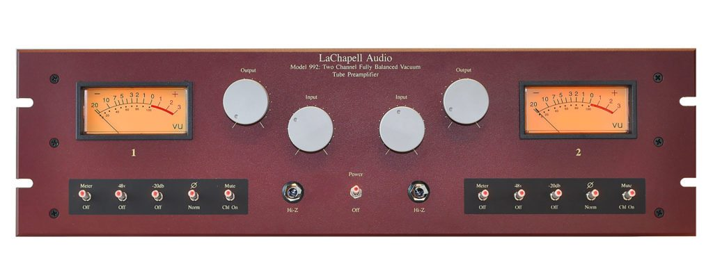 LaChapell Audio 992EG Tube Mic Preamp - Front Image