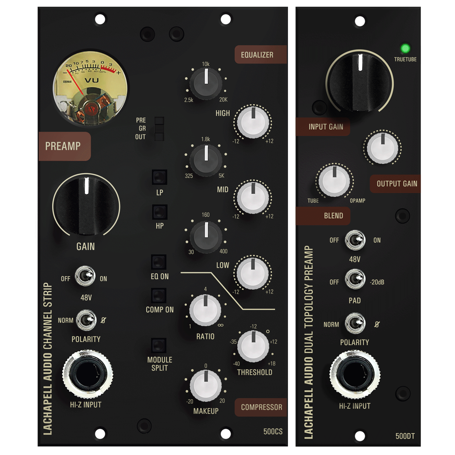 NAMM Ready Products The LaChapell Audio Dual Topology Mic Preamp And The Channel Strip For The 500 Series