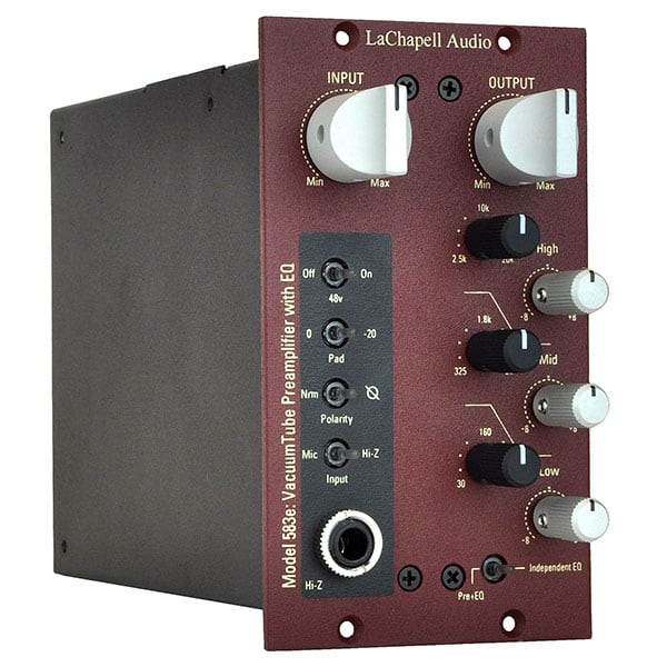 LaChapell Audio 583E 500 series tube mic preamp with EQ