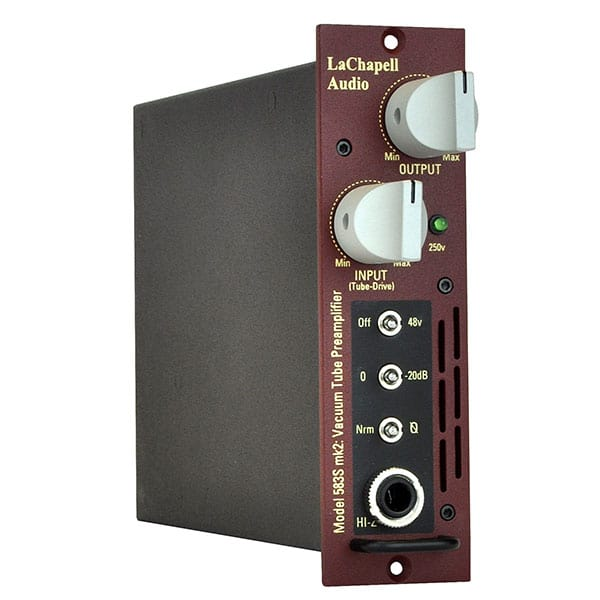 LaChapell Audio 583S - 500 Series Tube Mic Preamp