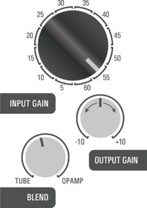 500DT Dual Topology tube preamp hybrid - vocal 3 example
