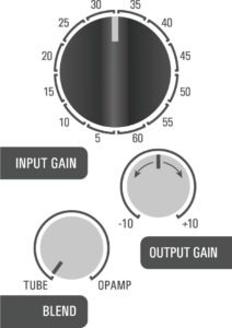 500DT Dual Topology tube preamp hybrid - vocal 1 example