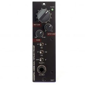 500DT-DualTopology-Front Solid state and tube preamps in one