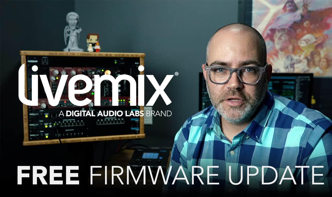 Free Livemix Firmware Update