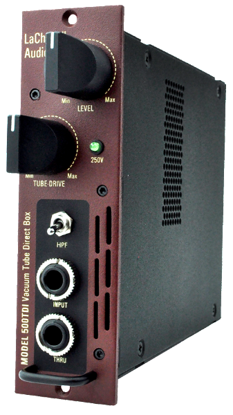 LaChapell Audio 500TDI Tube direct box (DI) for 500 Series